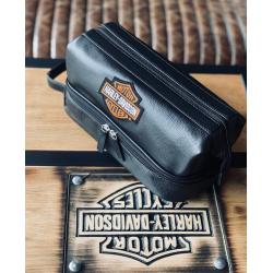 Органайзер Harley-Davidson Deluxe кожа черный