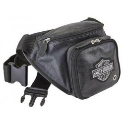 Поясная сумка Harley-Davidson кожа черный
