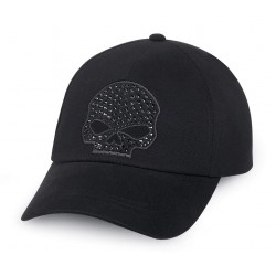 Кепка Skull со стразами