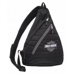 Рюкзак Harley-Davidson Silver B&S Черный