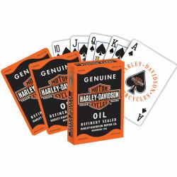 Игральные карты Harley-Davidson Oil Can