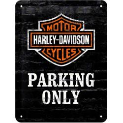 Табличка настенная H-D Parking Only
